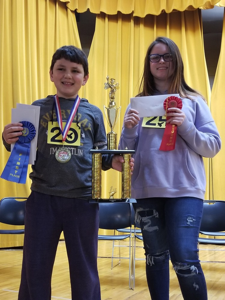 2020 Jackson County Spelling Bee Winners!
