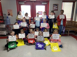 Tuckerman Elementary School Students of the Month for March!