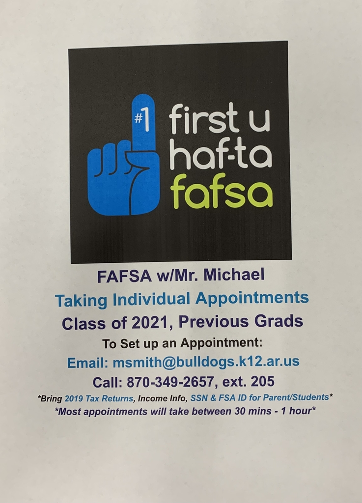 FAFSA Application is Open!