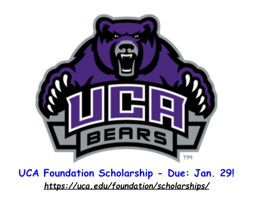 UCA Foundation App Due Jan 29